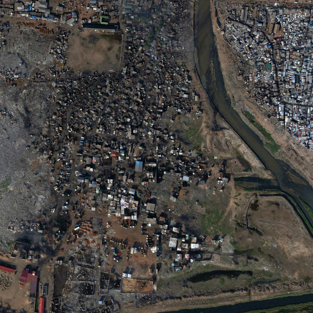 4.Agbogbloshie, dump in Accra, Ghana